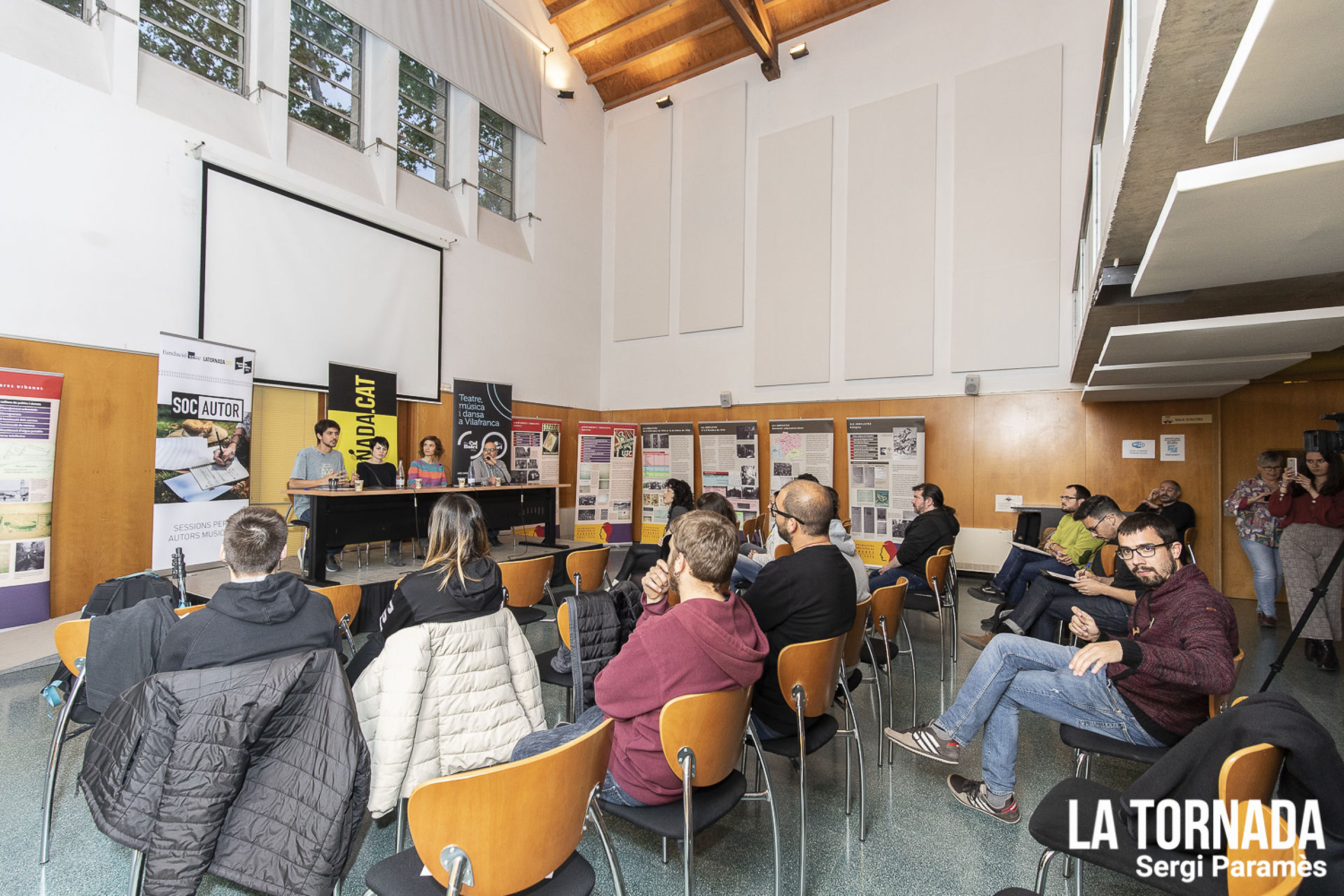 El Soc Autor arriba a Vilafranca del Penedès amb un debat sobre la indústria musical