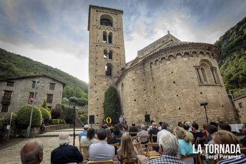 Gemma Humet a Beget. Festival Microclima