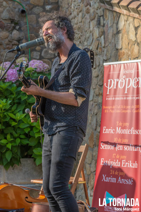 Lluís Boria (Estúpida Erikah) a Castell d'Aro