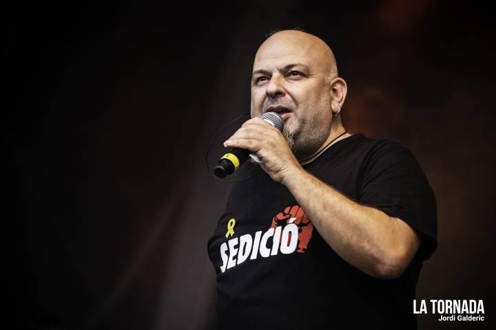 Francesc 'Titot' Ribera. Brams a Canet Rock