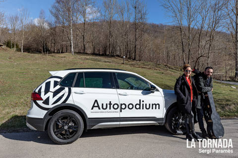 Autopodium Volkswagen a Camprodon