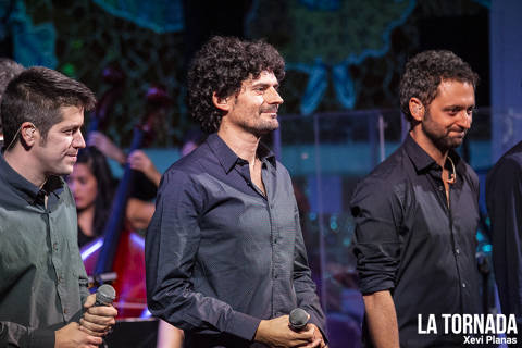 Eduard Costa (Els Amics) al Palau de la Música