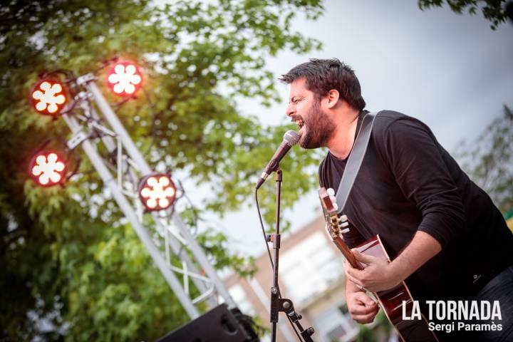 Miquel Abras. Festival Espurnes. Llagostera