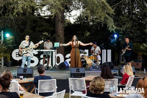 Paula Peso al Festival Jardins de Pedralbes