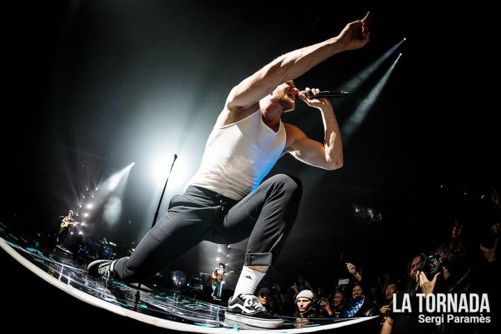 Dan Reynolds (Imagine Dragons) a Barcelona