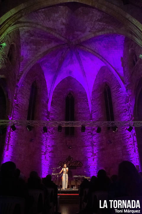 Paula Grande al Festival Essències (Montblanc)