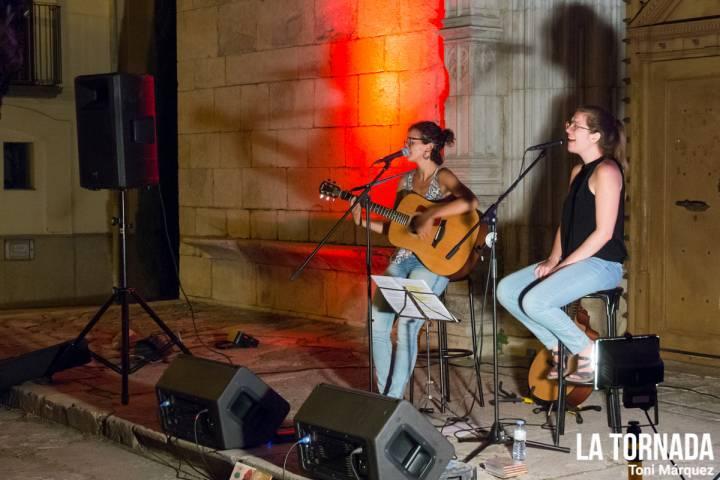 Marta Pérez i Tona Gafarot als Concerts de tornada