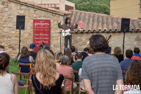 Xarim Aresté a Castell d'Aro. Festival Propers