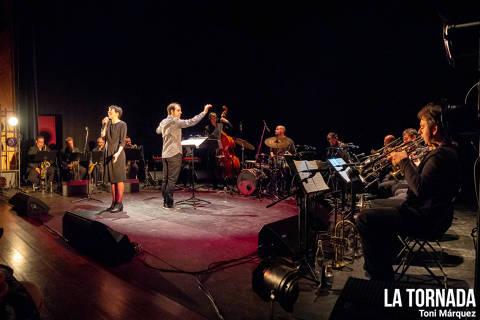 Anna Roig i Àlex Cassanyes Big Band Project