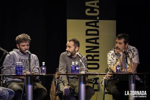 Joan Rovira, David Lafuente i Albert Salvat