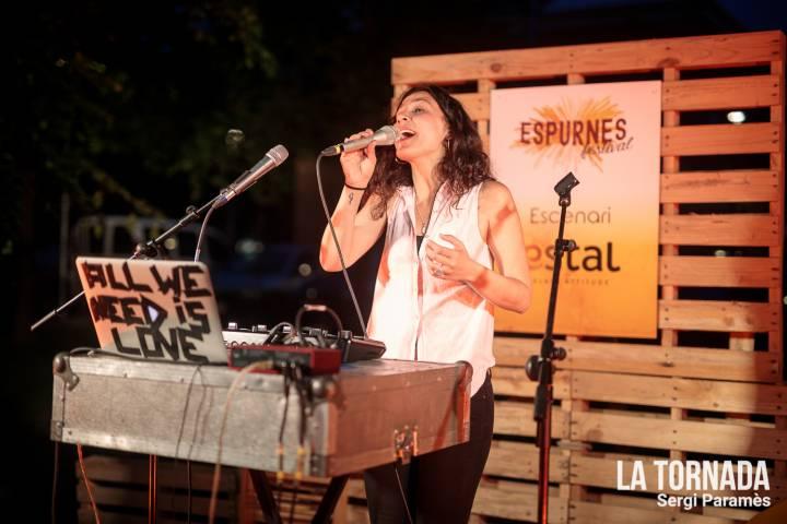 Paula Grande. Festival Espurnes. Llagostera