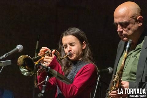 Andrea Motis al Festival Essències (Montblanc)