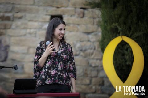 Gemma Humet a Beget (Camprodon)
