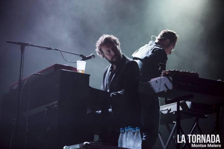 David Carabén i Marc Lloret (Mishima) a Razzmatazz