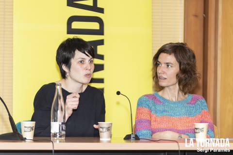 Anna Roig i Núria Segovia. Soc Autor Vilafranca