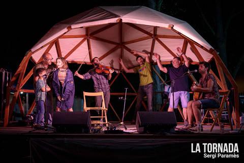 Ganxet Elèctric al festival Espurnes de Llagostera