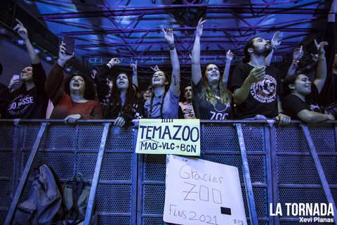 Públic. Zoo al Sant Jordi Club de Barcelona