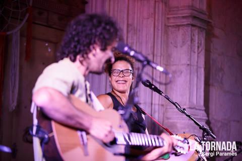 Marcel Lázara i Júlia Arrey als Concerts de Tornada