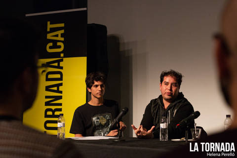 Pau Planas i Miguel Zamarripa. Soc Autor Sabadell