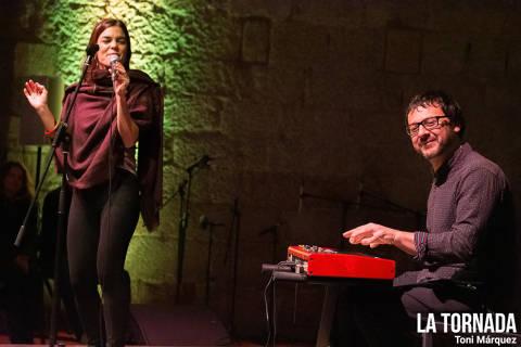 Sara Pi al Festival Essències (Montblanc)