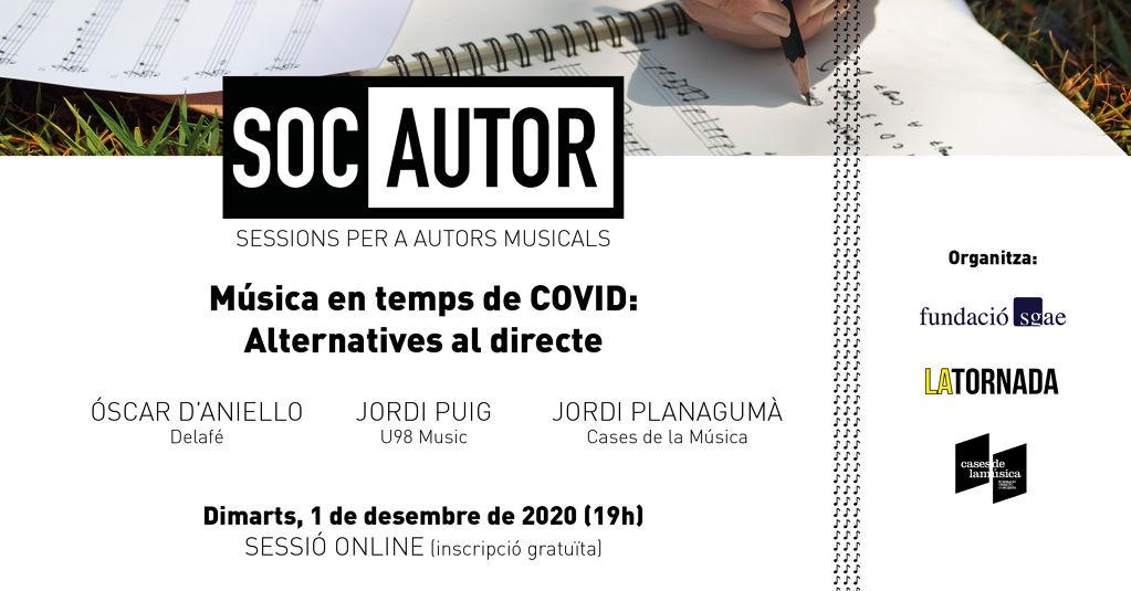 Música en temps de COVID: Alternatives al directe