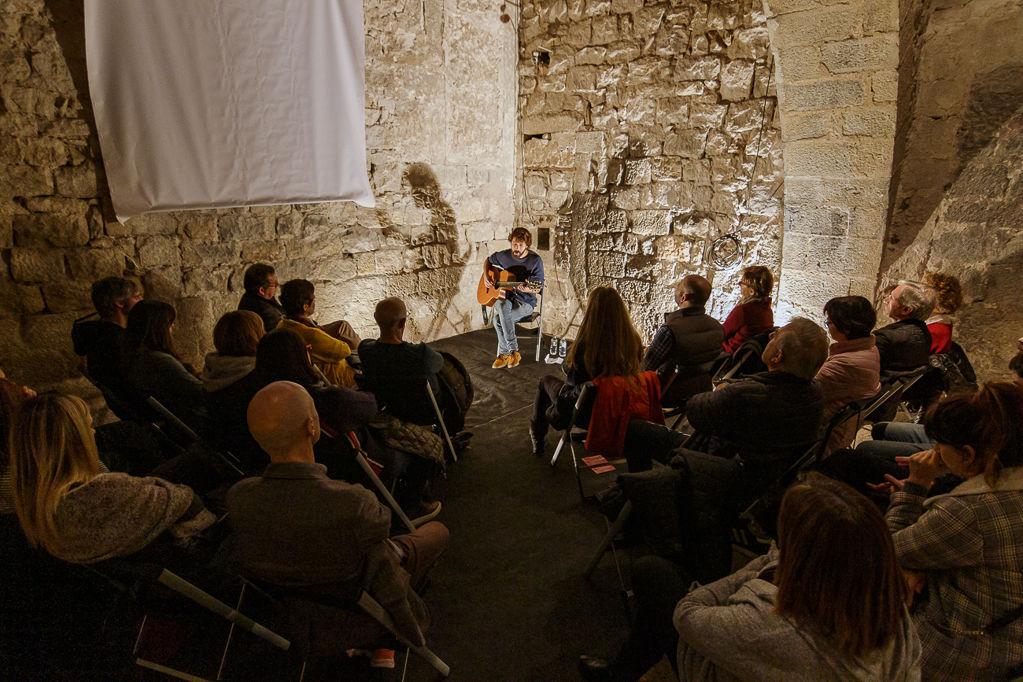 David Mauricio, primer artista dels Concerts a Cegues