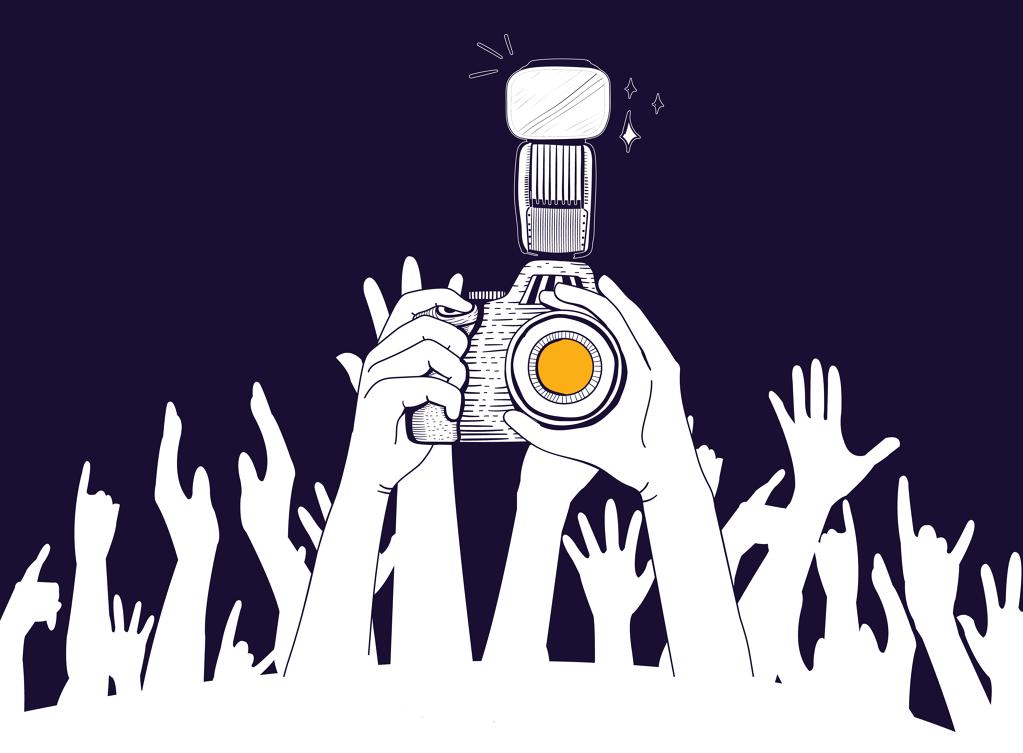 Curs intensiu de fotografia de concerts
