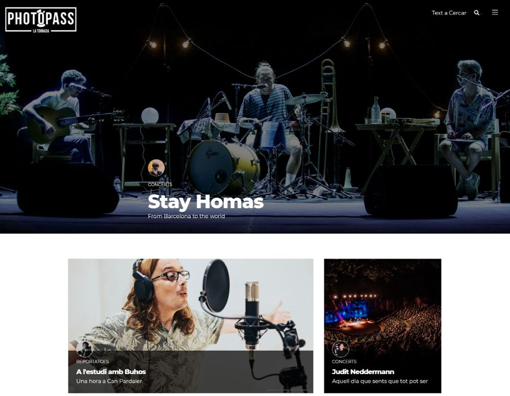Neix Photopass, el nou magazine musical de La Tornada