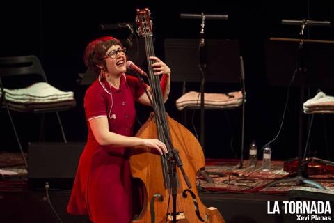 Roser Cruells (Els Catarres) a l'Auditori de Girona
