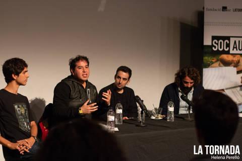 Miguel Zamarripa, Marc Riera i Abel Coll. Soc Autor