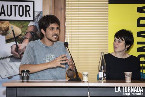 Pau Planas i Anna Roig. Soc Autor Vilafranca