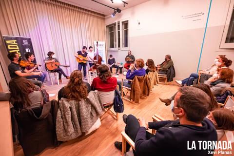 Germà Negre donen el tret de sortida als Concerts a Cegues