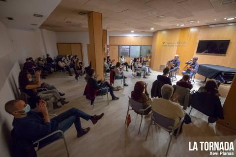 Lluís Gavaldà, per sorpresa, als Concerts a Cegues