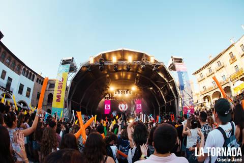 Públic. Share festival al Poble Espanyol de Barcelona