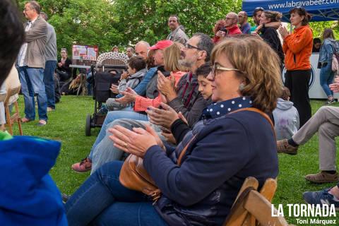 Públic. Mireia Vives i Borja Penalba a Camprodon