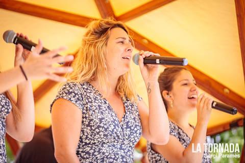 Montse Ferrermoner (Les Anxovetes) al festival Espurnes