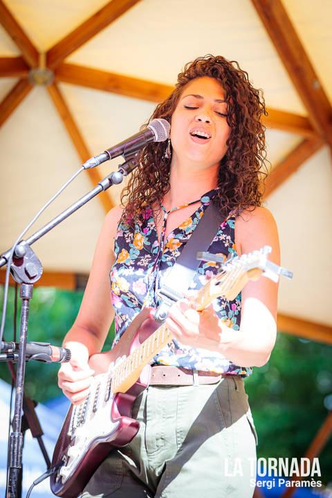 Natàlia Miró (Namina) al festival Espurnes de Llagostera