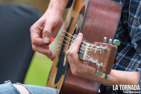 Guitarra. Borja Penalba al Monestir de Camprodon