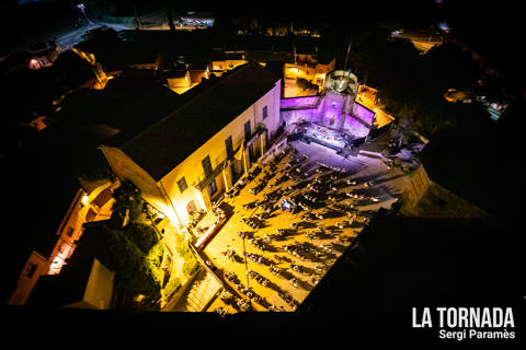 Festival Espurnes. Plaça del Castell de Llagostera