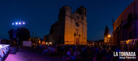 Festival Espurnes. Església de Sant Feliu de Llagostera