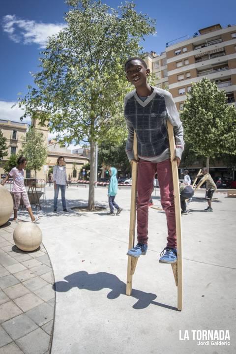 Taller de malabars a càrrec de La Pampalluga