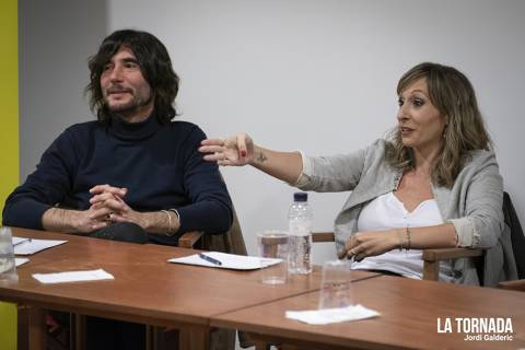 Joan Masdéu i Mireia Badia. Soc Autor Tarragona