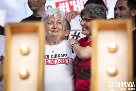 Mare i germana de Jordi Cuixart. Cultura contra la repressió