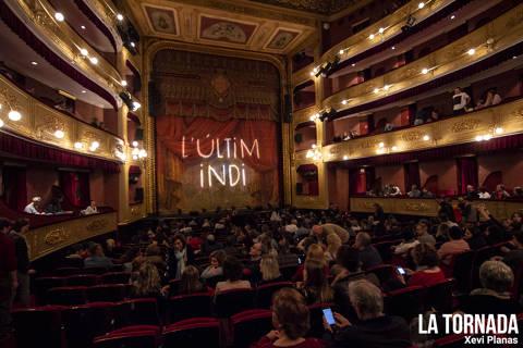 L'Últim Indi al Teatre Municipal de Girona