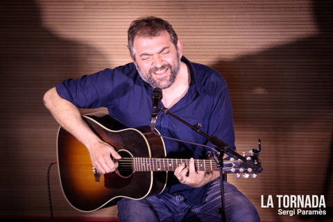 Jordi Lanuza a l'Antic Casino de Castell d'Aro