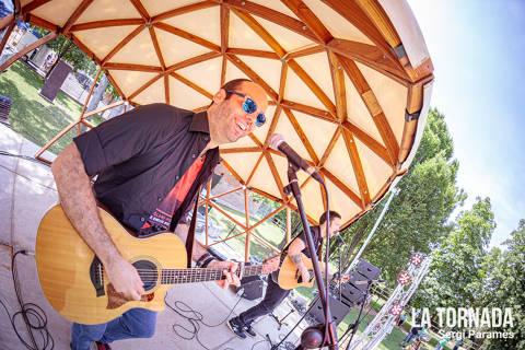 Jimmy Vidal (Ninus) al festival Espurnes de Llagostera