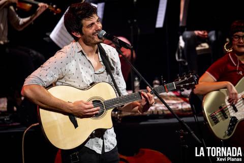 Èric Vergés (Els Catarres) a l'Auditori de Girona