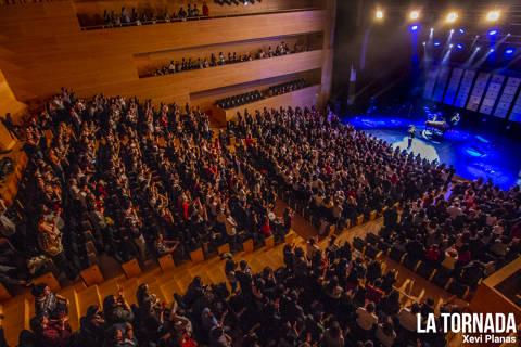 Públic. Alfred García a l'Auditori de Girona