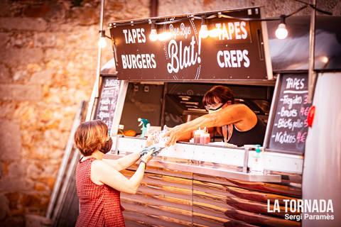 Espai gastronòmic. Festival Espurnes. Llagostera