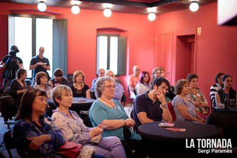 Públic. Jordi Lanuza a Castell d'Aro